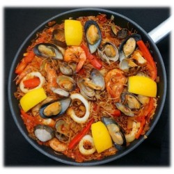 Paella with pasta DELUXE...