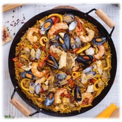 PAELLA with pasta DE...