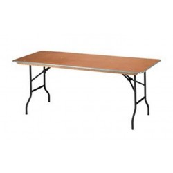 table rectangulair  180cm...